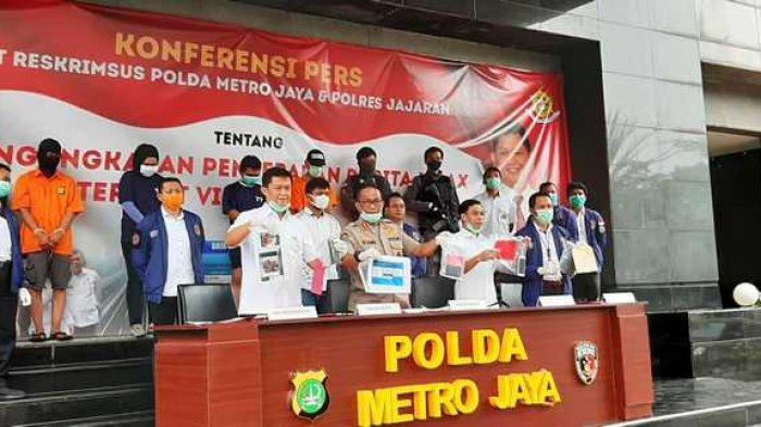 POLISI Ciduk 4 Penyebar Hoaks terkait Corona, Sebut Tak Ada Motif Ekonomi di Baliknya