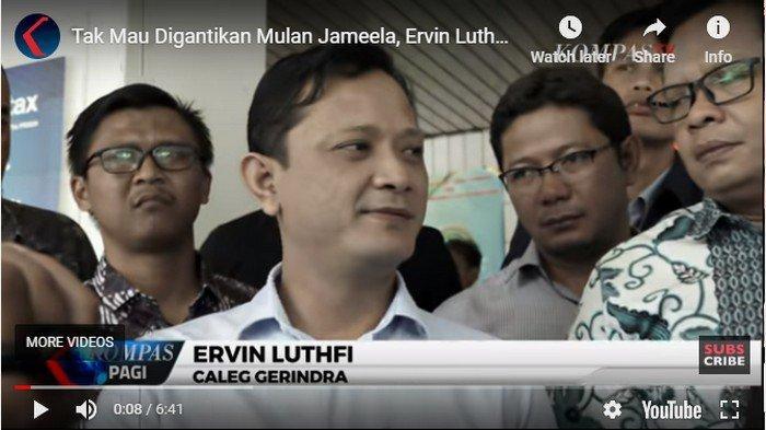 UPDATE Ervin Luthfi Tak Mau Digantikan Mulan Jameela, Ajukan Gugatan Balik ke PTUN Jakarta