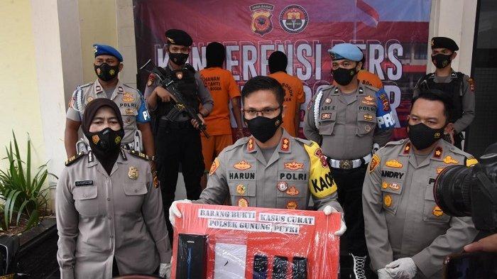 Polres Bogor Ringkus Geng Pencuri dengan Modus Kempes Ban di Gunung Putri, Korban Rugi Rp 70 Juta