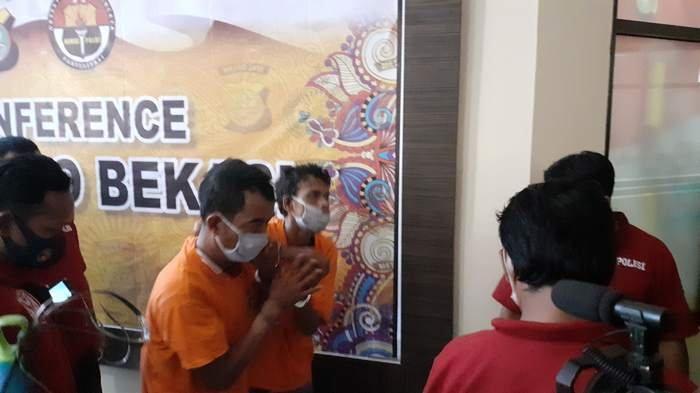 Polisi Tangkap Dua Spesialis Perampokan Sadis di Bekasi, Incar Korban Pemulung