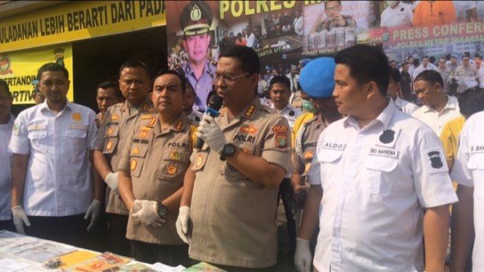Penyelundupan Sabu 15 kilogram, Jaringan Pontianak - Jakarta Diungkap Polres Jakarta Utara