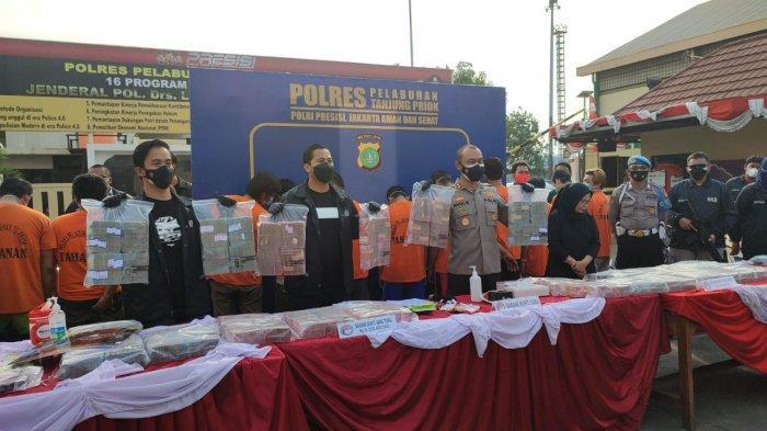 Polres Pelabuhan Tanjung Priok Ungkap TPPU Sindikat Sabu Lintas Negara, Sita Aset Rp 14,8 Miliar