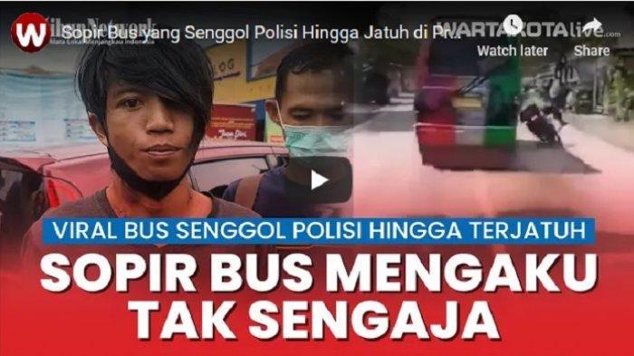Sopir Minibus yang Senggol Polisi Hingga Jatuh di Probolinggo Tertangkap, Mengaku Tak Sengaja
