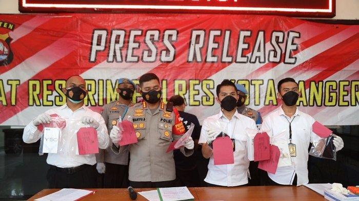 Pelaku Pencurian dengan Modus Pembobolan Rumah Ditangkap Polresta Tangerang, Ini Modus Operandinya