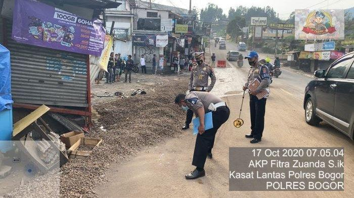 Ini Penjelasan Kasat Lantas Polres Bogor Soal Truk yang Sebabkan 5 Orang Tewas di Puncak, Bogor