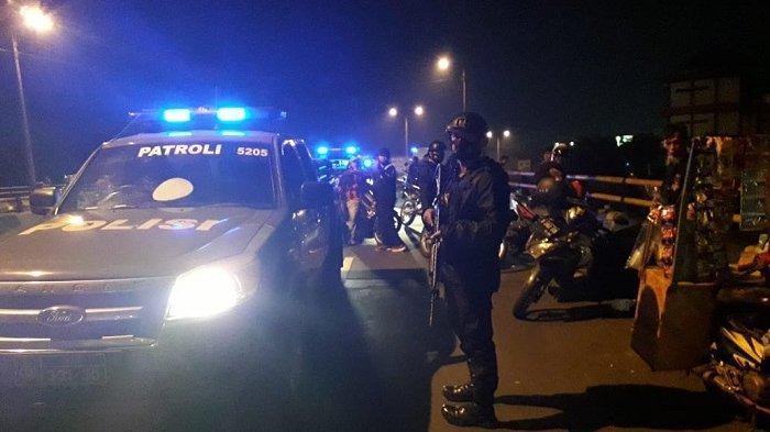 Tawuran Jelang Sahur di Bulan Suci Ramadan, Polsek Cibinong dan Tim Rambo Polres Bogor Gelar Patroli