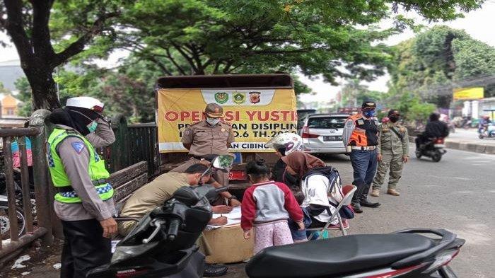 Masih Banyak Warga Cibinong Bogor Tak Patuhi Protokol Kesehatan, Ini yang Dilakukan Polisi Bogor
