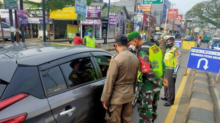 Tak Bisa Perlihatkan Surat Hasil Swab Antigen, 43 Pengendara Dilarang Masuk Wilayah Kabupaten Bogor