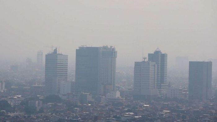 Senin Pagi Ini Kualitas Udara Jakarta Masih Berada di Level Merah dan Tidak Sehat