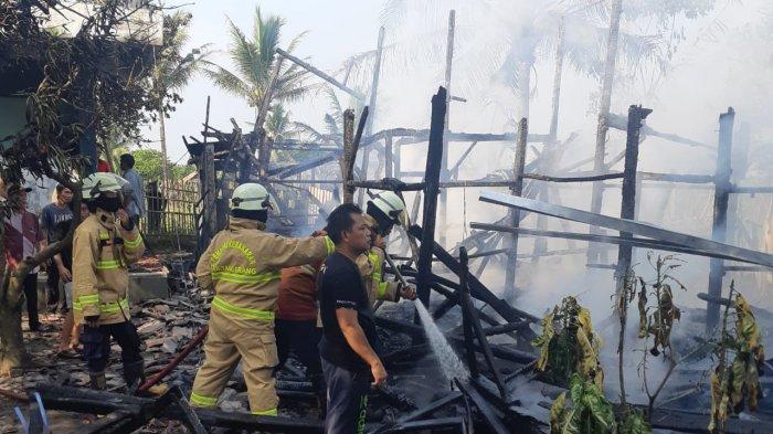 Sebanyak 24 Kamar untuk Ratusan Santri di Kota Tangerang Musnah Terbakar, Pihak Ponpes Butuh Bantuan