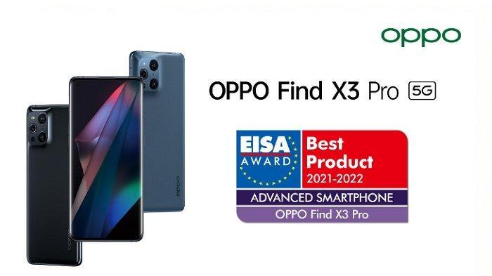 Oppo Find X3 Pro 5G Raih Penghargaan EISA sebagai Ponsel Flagship Tercanggih Tahun Ini