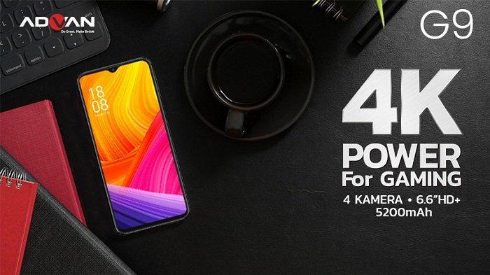 Ponsel gaming Advan G9