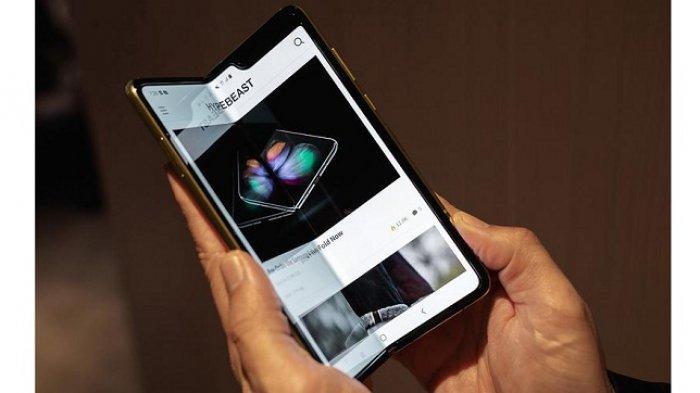 Rilis April 2020, Ponsel Layar Lipat Galaxy Fold 2 Punya Kamera di Bawah Layar, Pertama di Dunia