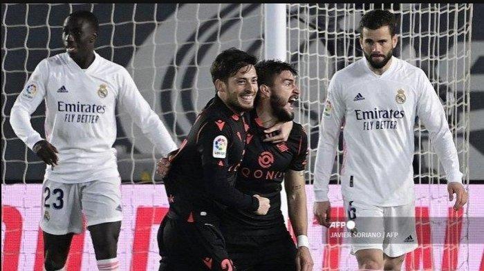 Salah Strategi, Real Madrid Kehilangan Poin Lawan Real Sociedad 1-1, Potensi Pimpin Klasemen Menjauh