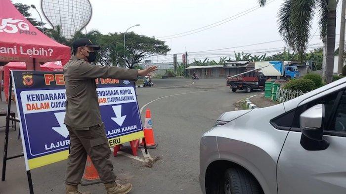 Larangan Mudik Lebaran, Kendaraan di Luar Kota Cirebon Harus Diperiksa Petugas