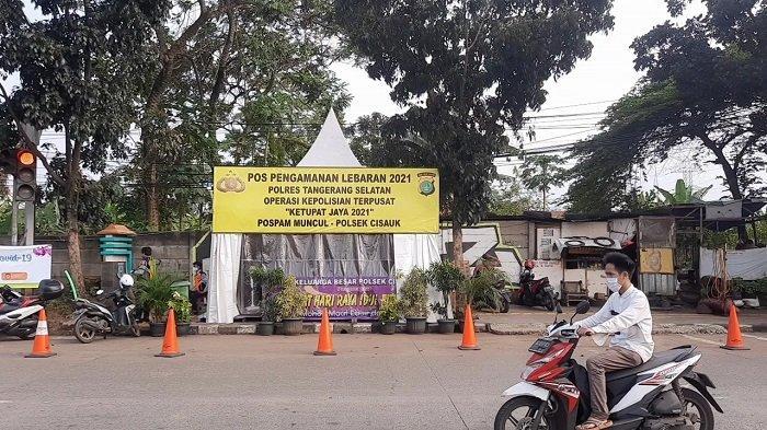 13 Personel Gabungan Disiagakan di Posko Ketupat Jaya 2021 Muncul Kota Tangerang Selatan