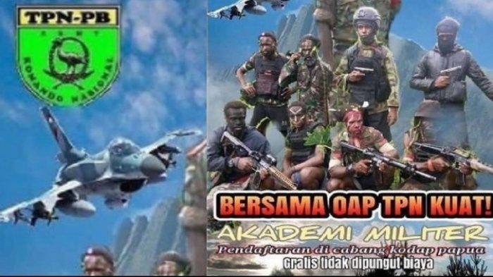 Viral Gambar Pesawat F-16 di Poster Pendaftaran Akmil TPN-OPM, Warganet: Beli Celana Dalam Aja Susah