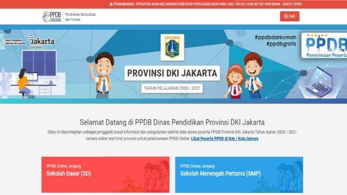Ini 6 Status Pendaftar Ppdb Online Dki Jakarta 2020 Yang Wajib Lakukan Prapendaftaran Warta Kota