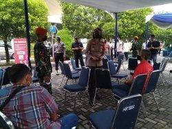 Polres Pelabuhan Tanjung Priok Tingkatkan Pengawasan PPKM karena Kasus Covid-19 Mengganas