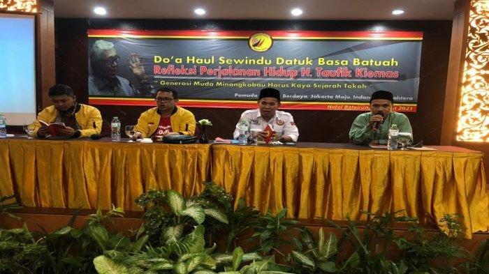 PPMM Ajak Milenial Minangkabau Teladani Taufik Kiemas, Bertekad Bangun Asrama Mahasiswa di Jakarta