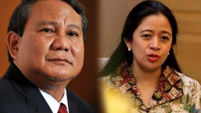 Prabowo dan Puan Maharani, diprediksi akan berpasangan di Pilpres 2024