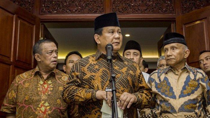 Tak Tahu Prabowo Bertemu Jokowi, Amien Rais: Kok Tiba-tiba Nyelonong?