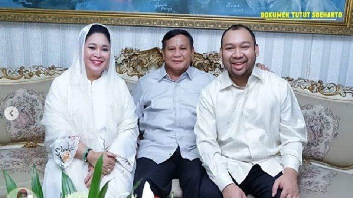 Momen Lebaran Prabowo Subianto Berkumpul Bersama Mantan Istri dan Anak Harapannya Selalu Bahagia