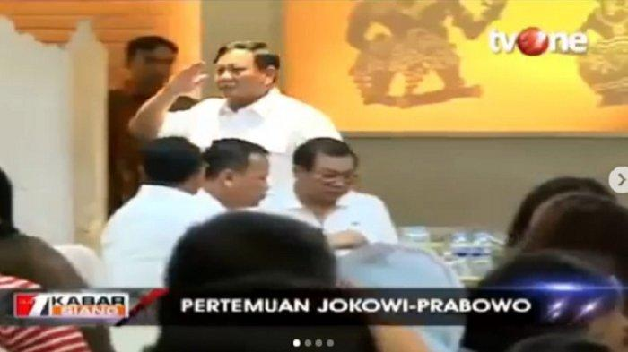 Di Pertemuan dengan Jokowi, Prabowo Tertangkap Kamera Hormat pada Politisi Senior PDIP