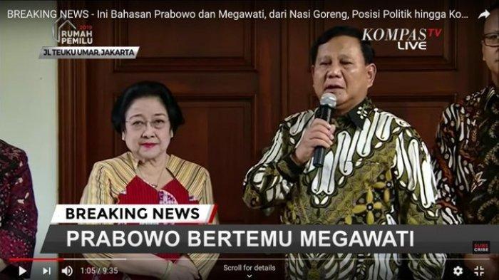 Megawati Pernah Marahi Menlu dan Panglima TNI karena Biarkan Prabowo Tak Punya Kewarganegaraan