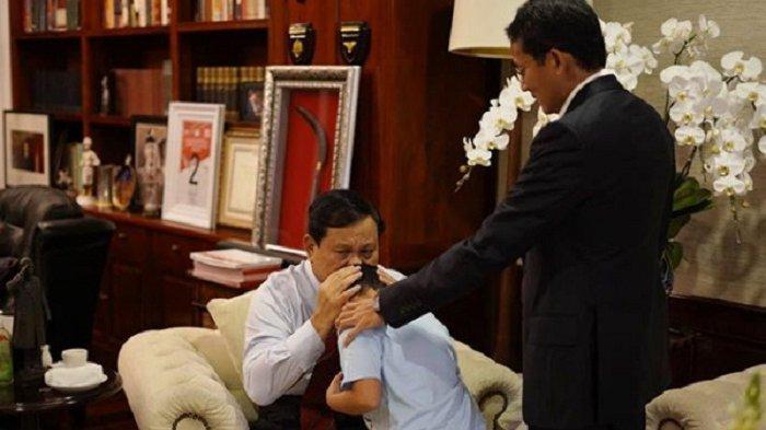 TERUNGKAP Begini Ekspresi Prabowo saat akan Hadir di Pelantikan Jokowi-Maruf Amin