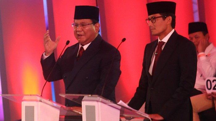 Saat Debat Prabowo Dinilai Riang Gembira dan Santai Sedang Jokowi Dinilai Emosional