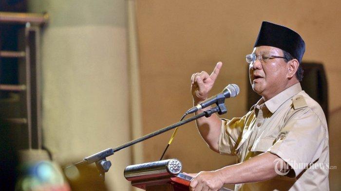 Ini Pidato Lengkap Prabowo Soal Indonesia Bakal Punah Bila Dirinya Tak Menang di Pilpres 2019