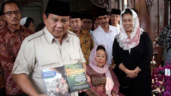 Prabowo: Khilafah Itu Propaganda Picik tapi Berbahaya