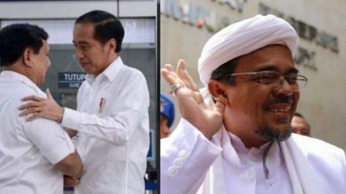 PENGAKUAN TERBARU Jokowi Soal Rekonsiliasi dengan Prabowo, Hingga Isu Kepulangan Habib Rizieq Shihab