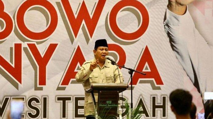 Prabowo Bilang Ada Warga di Jawa Barat yang Cuma Mampu Makan Sehari Sekali