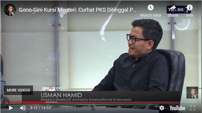 Prabowo Subianto Ditolak Jadi Menhan oleh Direktur Amnesty International, Ini Alasannya