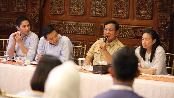 Prabowo Nasihati Penggiat Medsos: Jangan Cuma Bisa Main Gadget, tapi Juga Harus Bisa Membuatnya