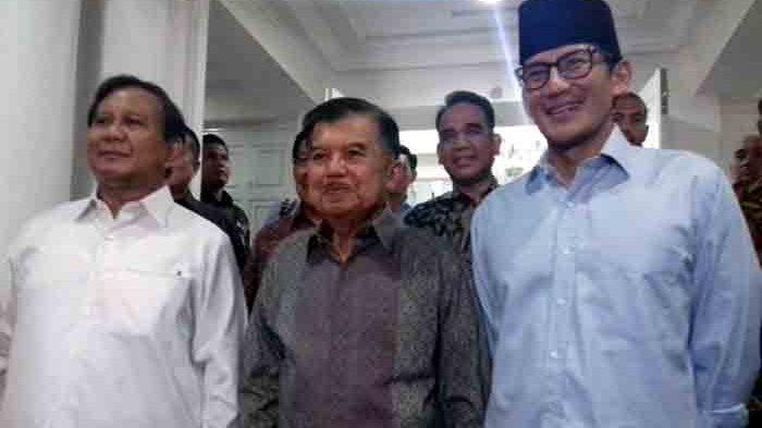 Jusuf Kalla Sebut Prabowo Orang yang Realistis, Yakin Bakal Terima Apapun Putusan MK