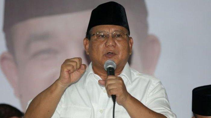 Prabowo: Tidak Ada Instruksi Partai Gerindra Mobilisasi Isu PKI