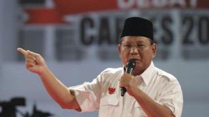 Nama Prabowo Teratas Dalam Capres Versi Survei LSI, Berikut Nama Penantangnya, masih ada Nama Ahok