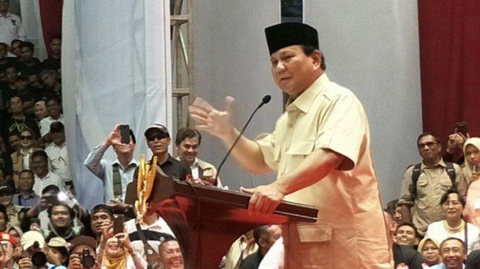 Ditantang Pimpin Salat, Prabowo Subianto Akui Kekurangannya