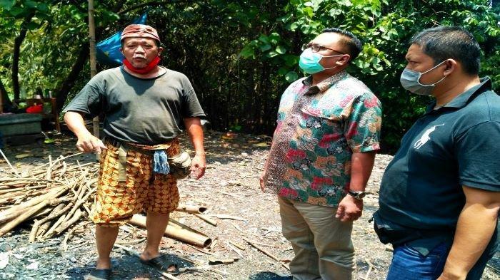 Ditemani Babeh Idin, Pradi Supriatna Lihat Pengelolaan Sampah Hutan Kota Sangga Buana