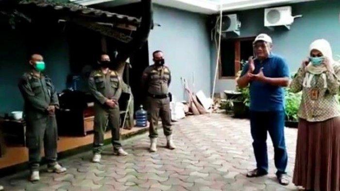 Cuti Pilkada Depok 2020, Pradi Supriatna dan istri, Martha Catur Wurihandini, haru melepas petugas Satpol PP Kota Depok