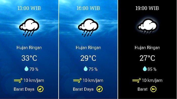 Prakiraan Cuaca Jabodetabek Kamis 24 Desember 2020 Jakarta Cerah Berawan Pagi, Hujan Petir di Bogor