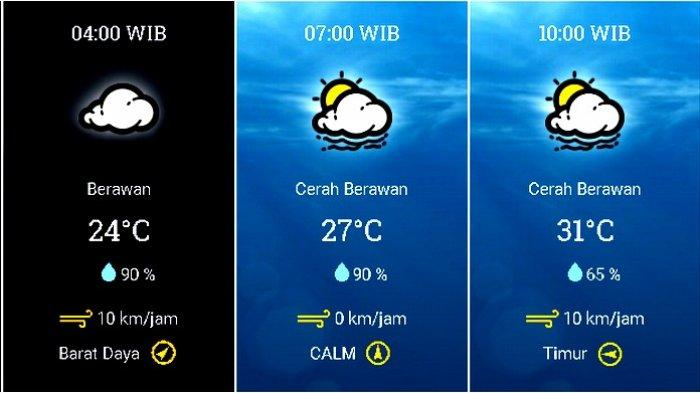Prakiraan Cuaca Jabodetabek Rabu (11/11) Jakarta Cerah Berawan Pagi, BMKG: Hujan di Bogor Siang