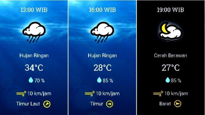 UPDATE Prakiraan Cuaca Jabodetabek Kamis (5/11): BMKG: Waspada Seluruh Jakarta Hujan Petir Dini Hari