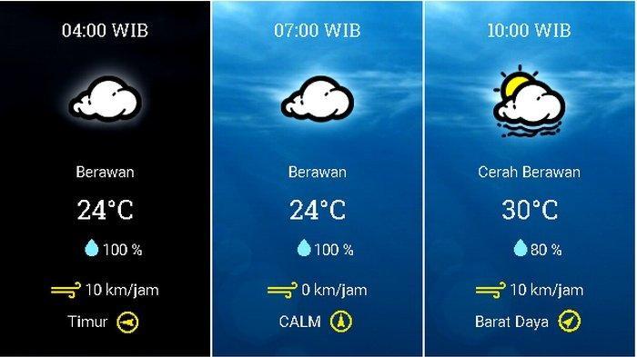 Prakiraan Cuaca Jabodetabek Selasa (27/10) Jakarta Berawan Pagi, Hujan di Jaksel dan Jaktim Siang