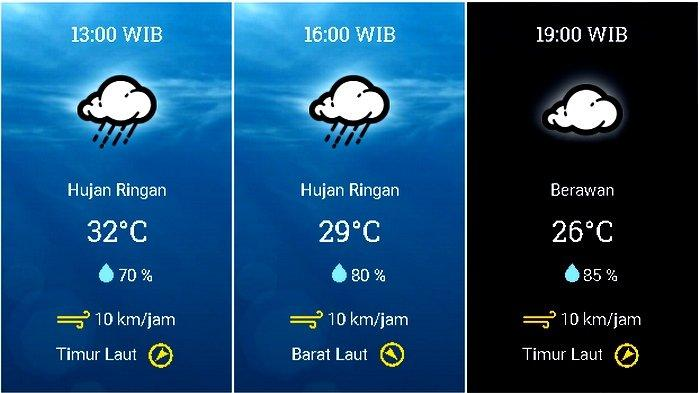 UPDATE Prakiraan Cuaca Jabodetabek Selasa (27/10) BMKG: Hujan di Jaksel Jaktim Diikuti Bogor Siang