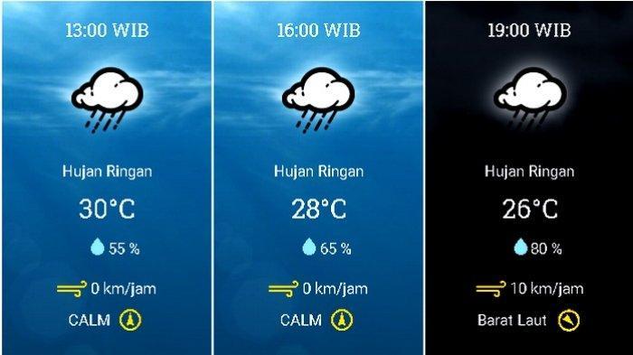 UPDATE Prakiraan Cuaca Jabodetabek Sabtu (7/11) BMKG: Waspadai Hujan Petir di Bogor & Depok