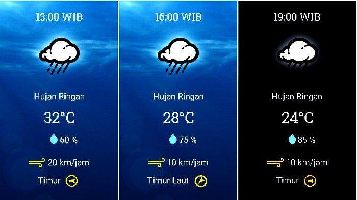 UPDATE Prakiraan Cuaca Jabodetabek Rabu (11/11), BMKG: Waspadai Hujan Petir di Bogor pada Siang